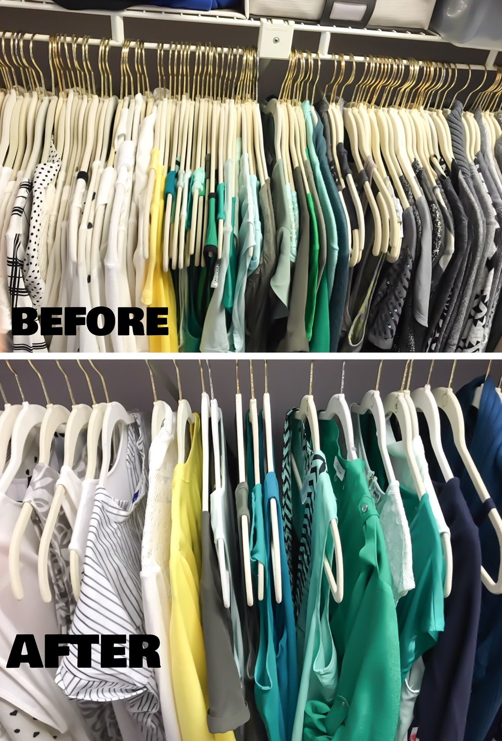 Is KonMari Contagious? How to declutter you closet with friends.