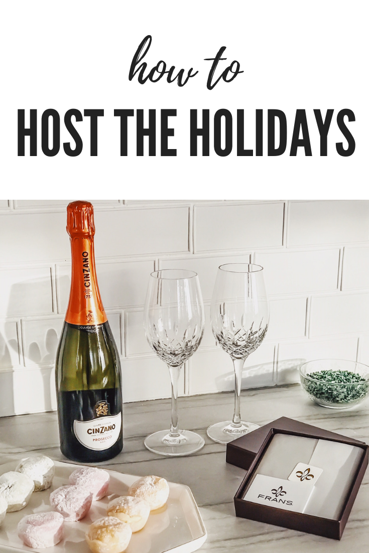 Tips For Hosting During The Holidays. How To Create A Memorable Experience For Your Guests At Your Home. ScentSicles instant Christmas Aroma, My/Mo Mochie Ice Cream desserts, Cinzano Prosecco Prosecco Bellini recipe, Fran's Chocolates, Salted caramels. #sponsored #ad #edcrepeatbboxx #holiday #ideas