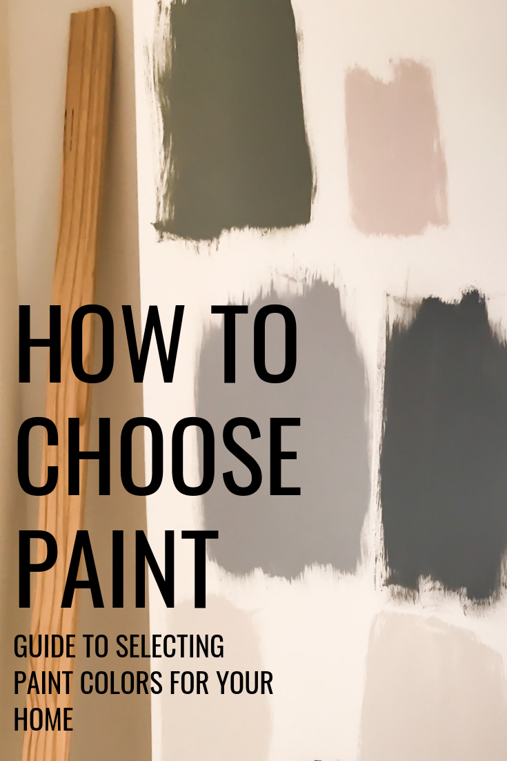 How To Choose Paint For Your Home. Deciding on paint colors for a room in your house. Selecting a color palette for your home. How to choose cohesive paint colors for your house. Getting the right light before your paint. Paint inspiration ideas for your home. Painting your house, where to start. #selecting #paint #colors #ideas