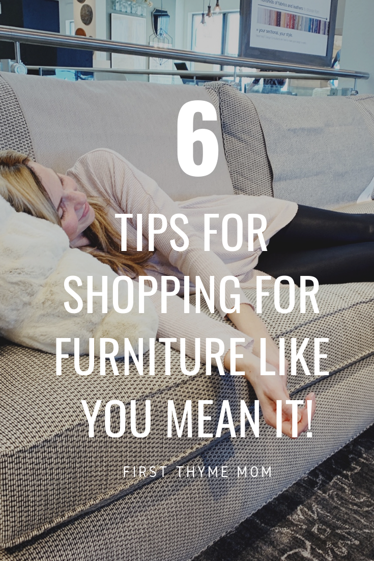 Do you have a tough time committing to furniture? Here's how to shop (errrr not shop?) for furniture for your home. How To Shop For Furniture Like You Mean It. #new #furniture #shopping