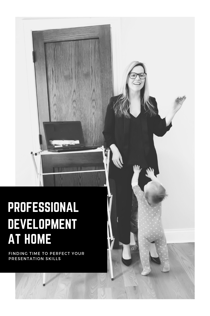 Professional Development At Home. How To Find Time At Home To Perfect Your Presentation Skills. Making time for your career with the help of your family. #women #presentation #skills