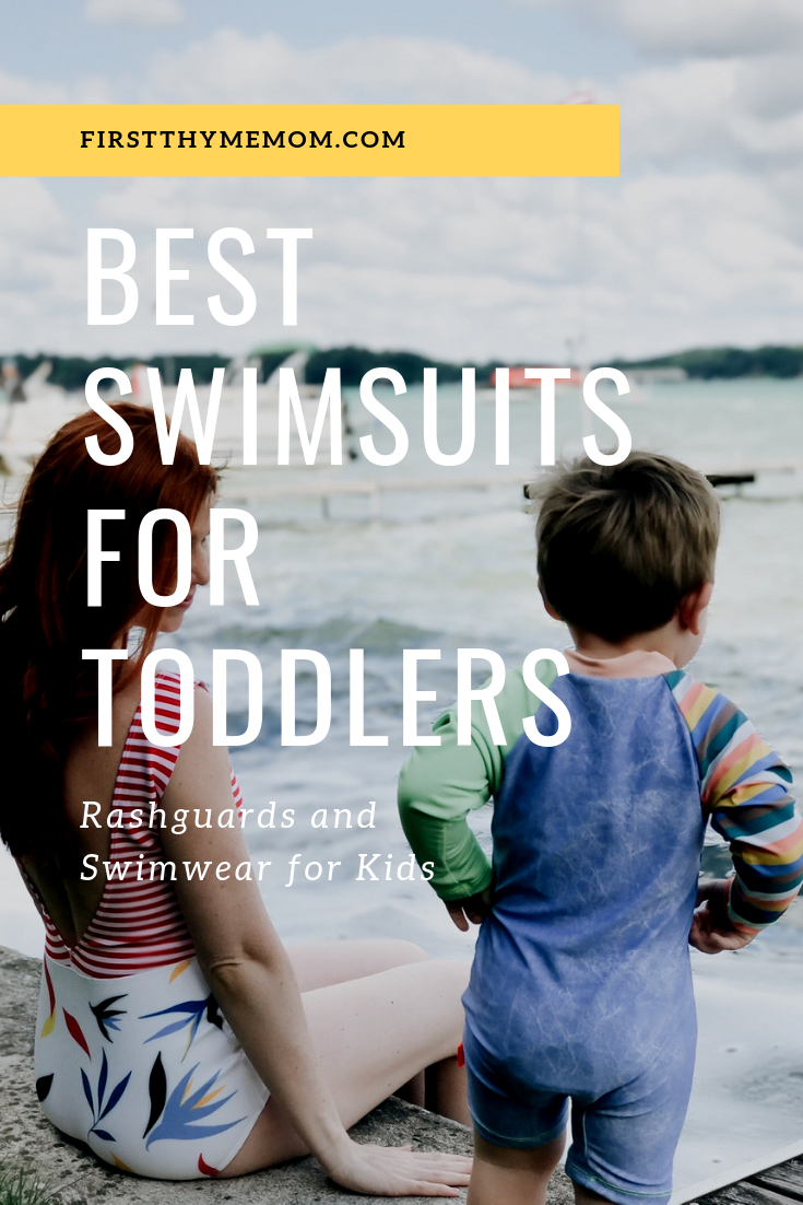 Best swimsuits for toddlers. Best swimsuits for kids. Bathing suits and rash guards for kids. Fun in the sun with kids. Full coverage swimwear for kids. Head to toe swimsuits for toddlers boys and girls. #toddler #swimwear #boys #girls