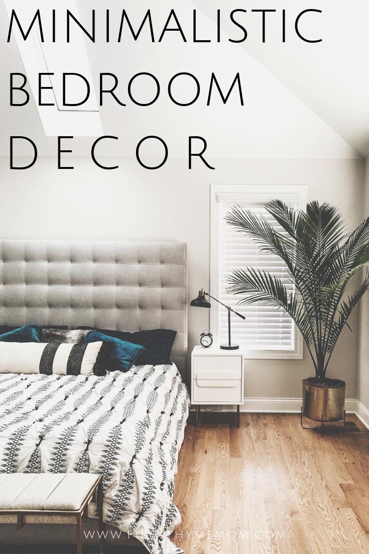 Minimalistic Bedroom Decor Ideas. Beautifully Simple Bedroom Design and Decor Ideas. Plants in your bedroom. Bohemian Bedroom decor. Simple Hygge Bedroom Decor.  Cozy bedroom ideas that will not clutter your room. Clutter-free bedroom decor. #minimalistic #hygge #bedroom #decor #ideas