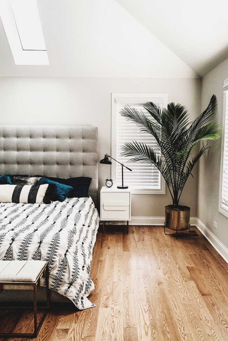 Minimalistic Hygge Bedroom Decor — First Thyme Mom