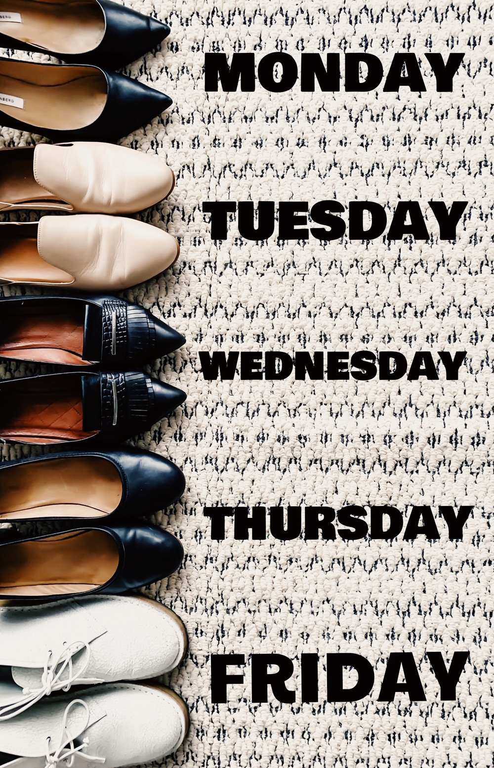 A Pair Of Business Casual Shoes For Women For Every Day Of The Week. Guide To Business Casual Shoes For Working Women. Best Shoes For Business Casual Dress Attire for Women. Best work shoes. Best flats for work. Best heals for for, business casual dress. #business #casual #womens #shoes