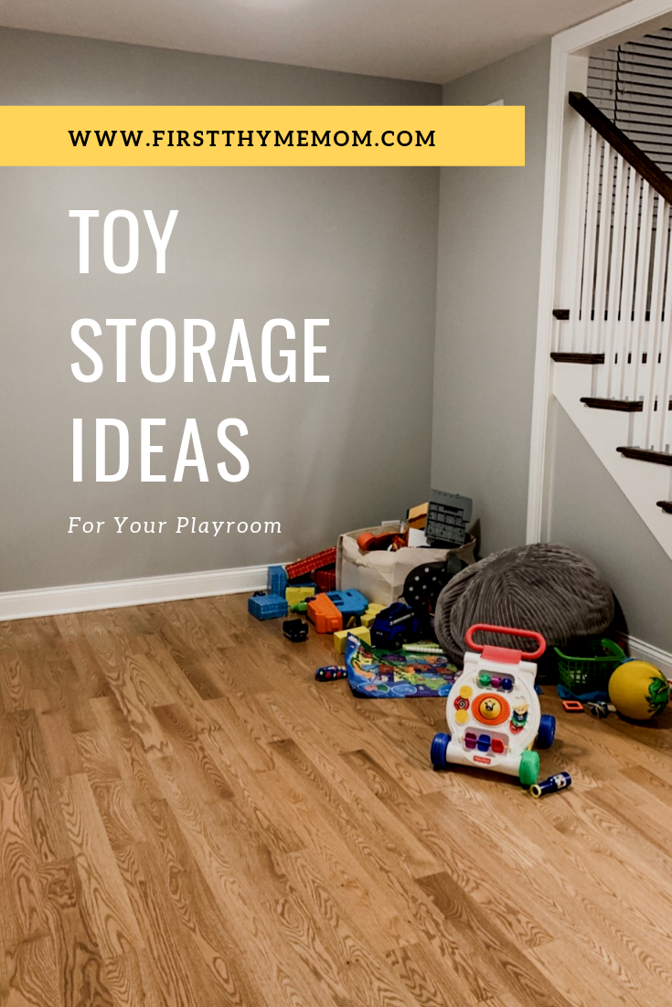 Playroom Storage Ideas. Stylish and trendy playroom storage options. How to organize your kid's room. Toy storage and organization. #toy #storage #organization