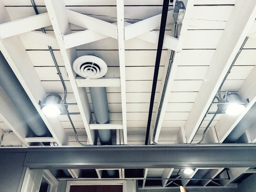 DIY Painted Basement Ceiling Project — First Thyme Mom