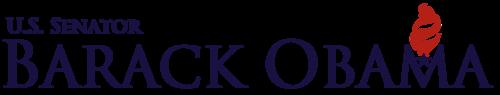 Figure 3: Obama U.S. Senator logotype.(prior to presidential bid)