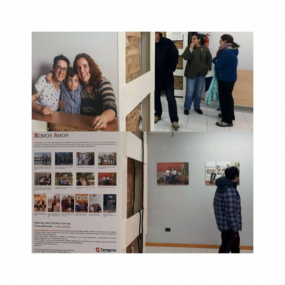 Exposición  SOMOS AMOR. Historias de Familias Diversas  de María Torres-Solanot.