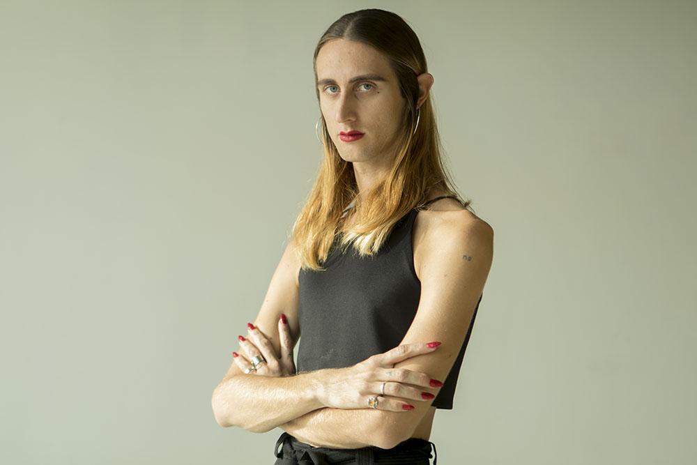 Alex de la Croix ,  artista y performer  QUEER  . Más allá del binarismo de género. Foto:  María Torres-Solanot ©