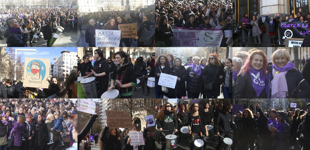 25N Día Contra las VIolencias Machistas en Zaragoza. Fotos: Dune Solanot