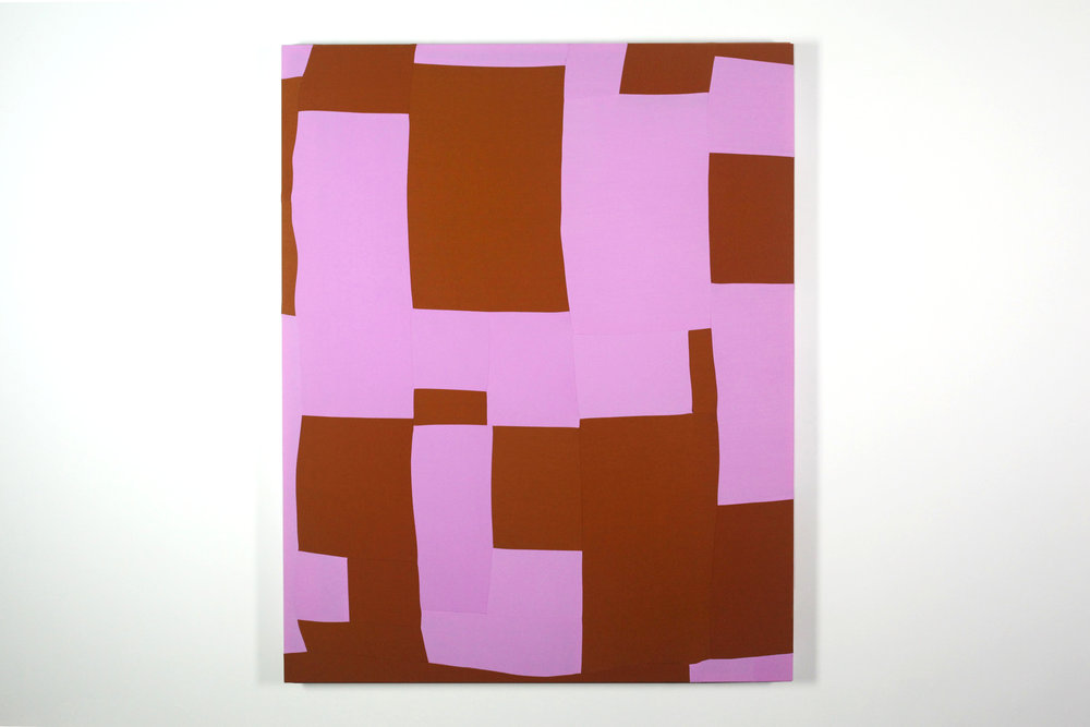 Pinch,  2017  Dyed fabric, thread