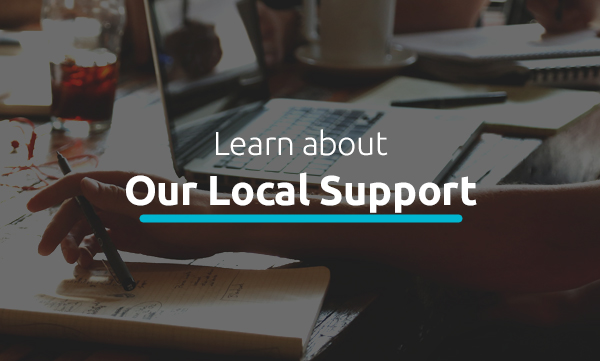 Local Support Selected