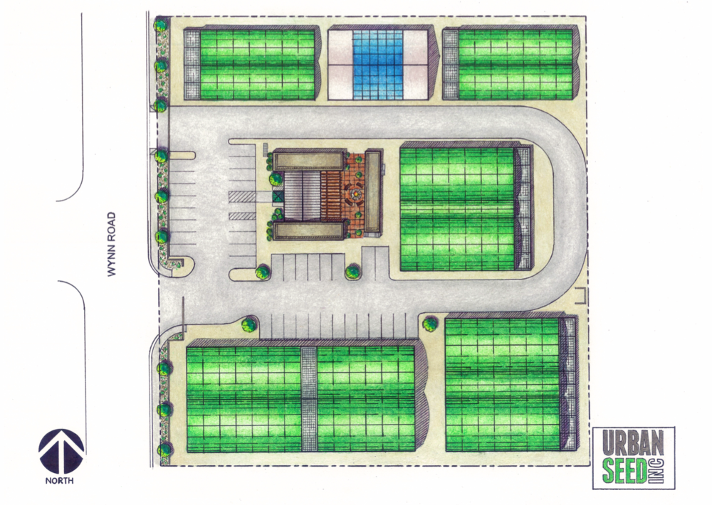 Urban Seed Site Plan