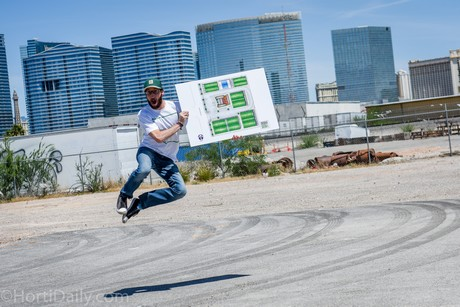 Urban Seed co-founder Jared Krulewitz can't wait to break ground for the greenhouses on Wynn Road, a few minutes off the Las Vegas Strip, with hotels like Paris Las Vegas and Mandalay Bay as a backdrop.