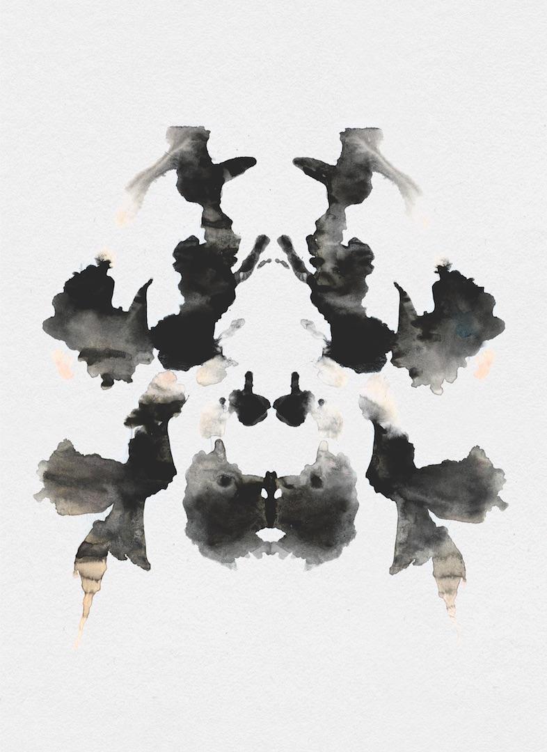 Rorschach test cards