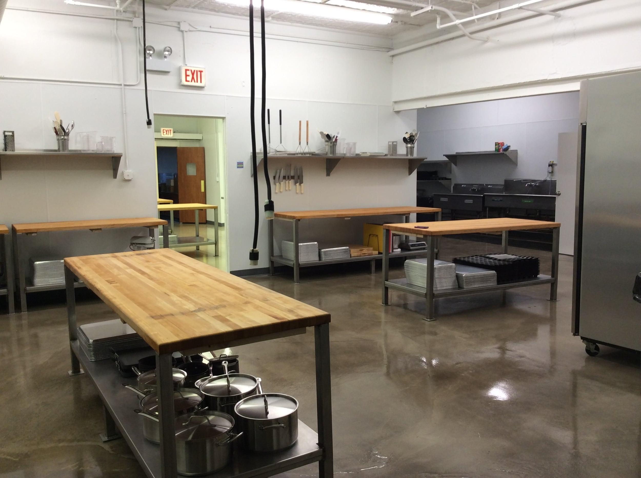 shared commercial kitchen and retail market - Shared Kitchen