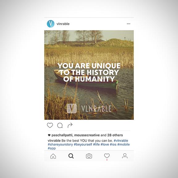 VLNRABLE Social media campaign.