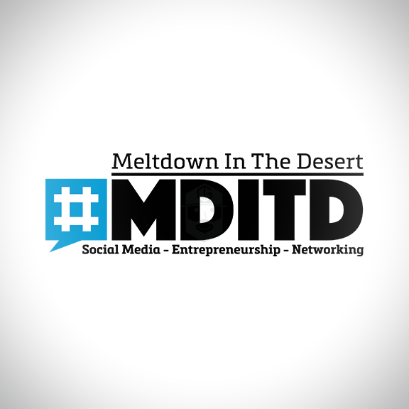 #MDITD  Logo for Arizona's HOTTEST Social Media Conference