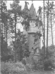 Der Wasserturm heute vor seinem Umbau