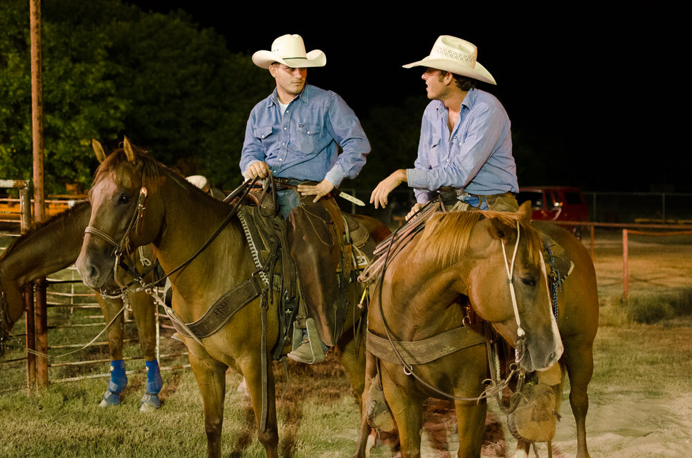 Ranch cowboys are extremely tight with each other, sharing cash, beer, motel rooms and watching each other's back when traveling.