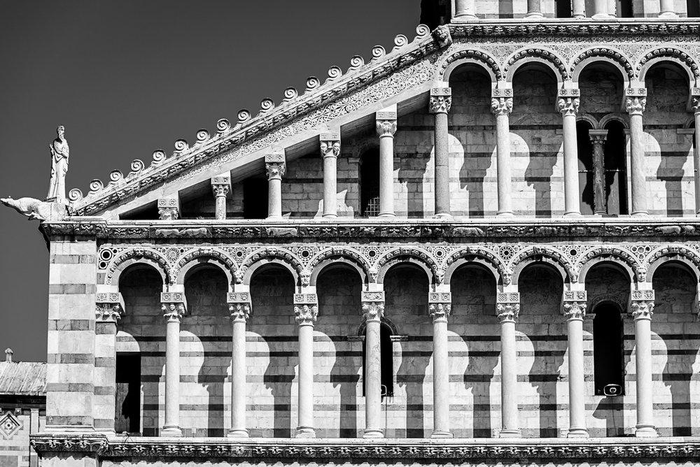Facade, Pisa