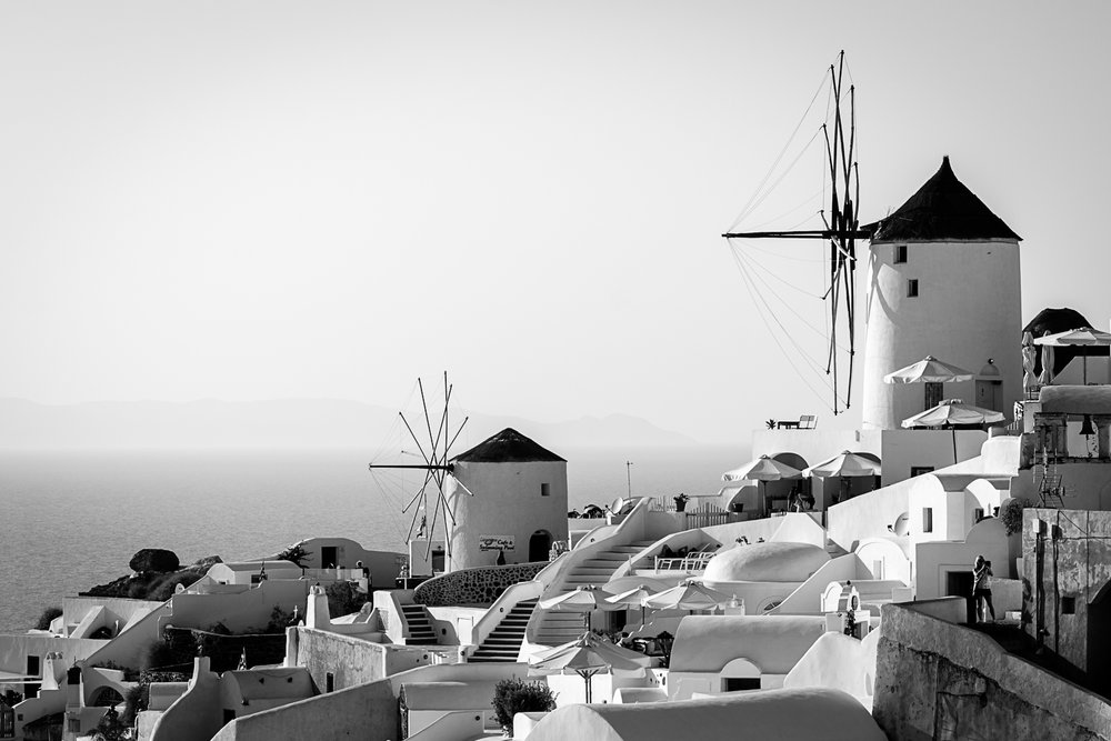 Windmills, Santorini