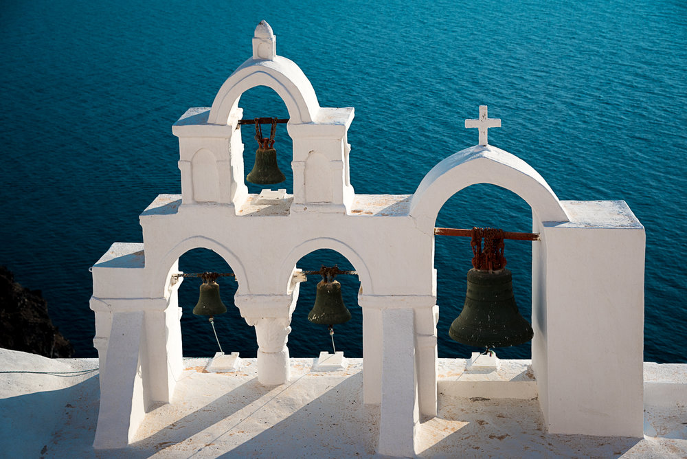 Church Bells, Santorini
