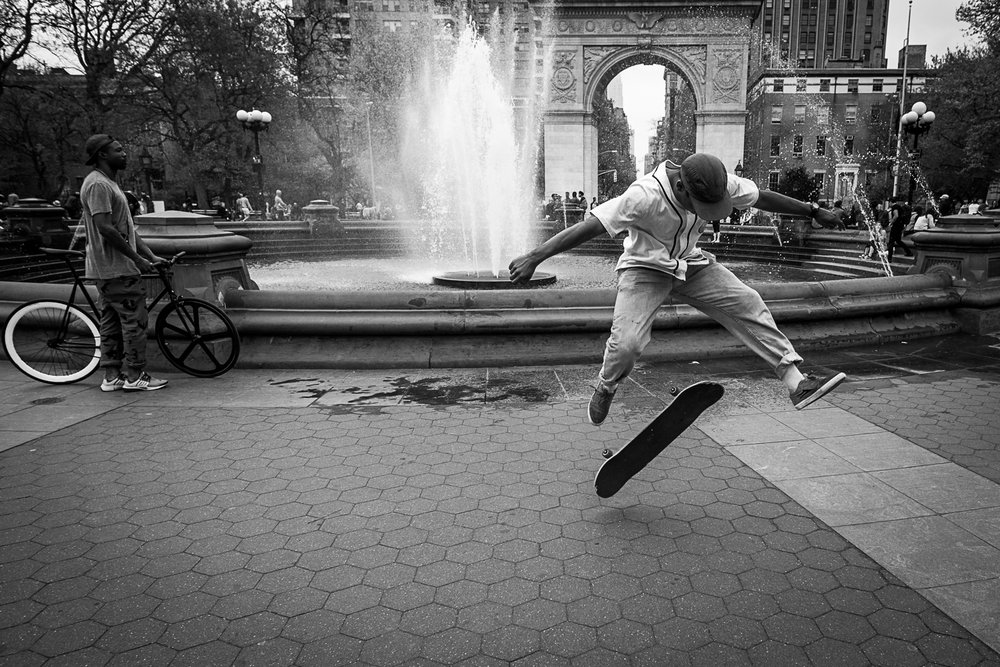 Skateboarder, New York