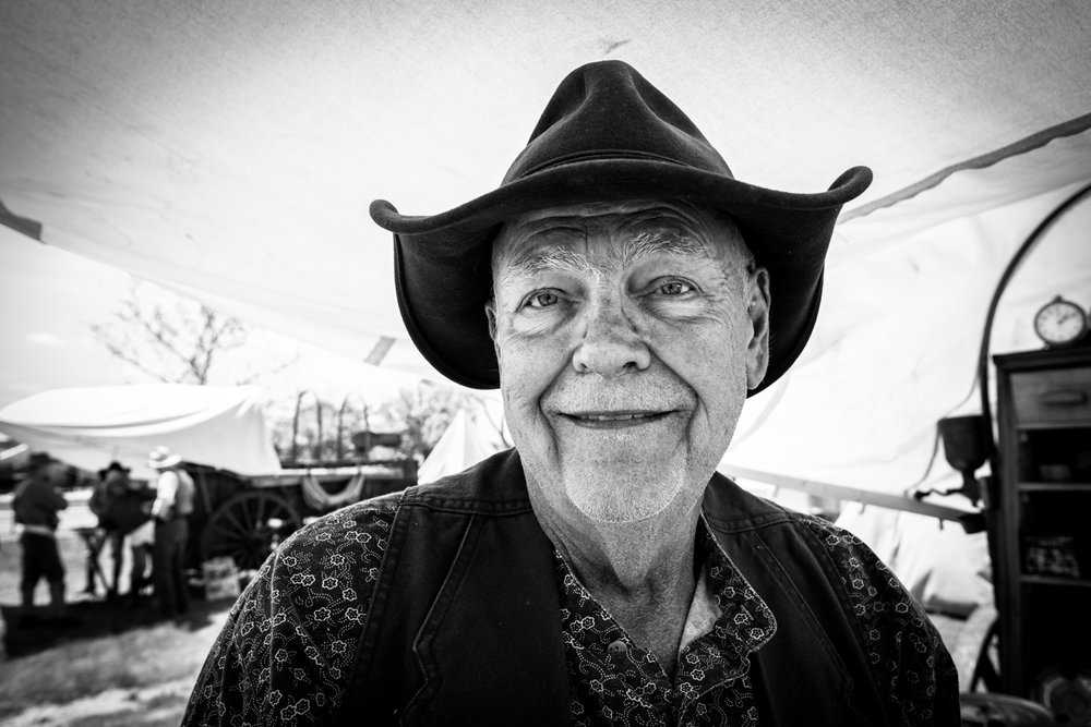 Chuckwagon Man, Texas