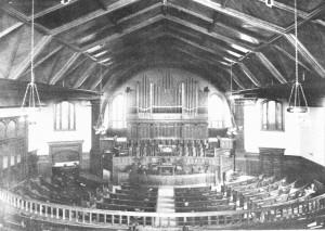 Interior of New Church (1915)