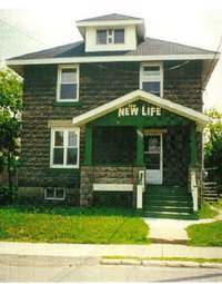 New Life Mission building