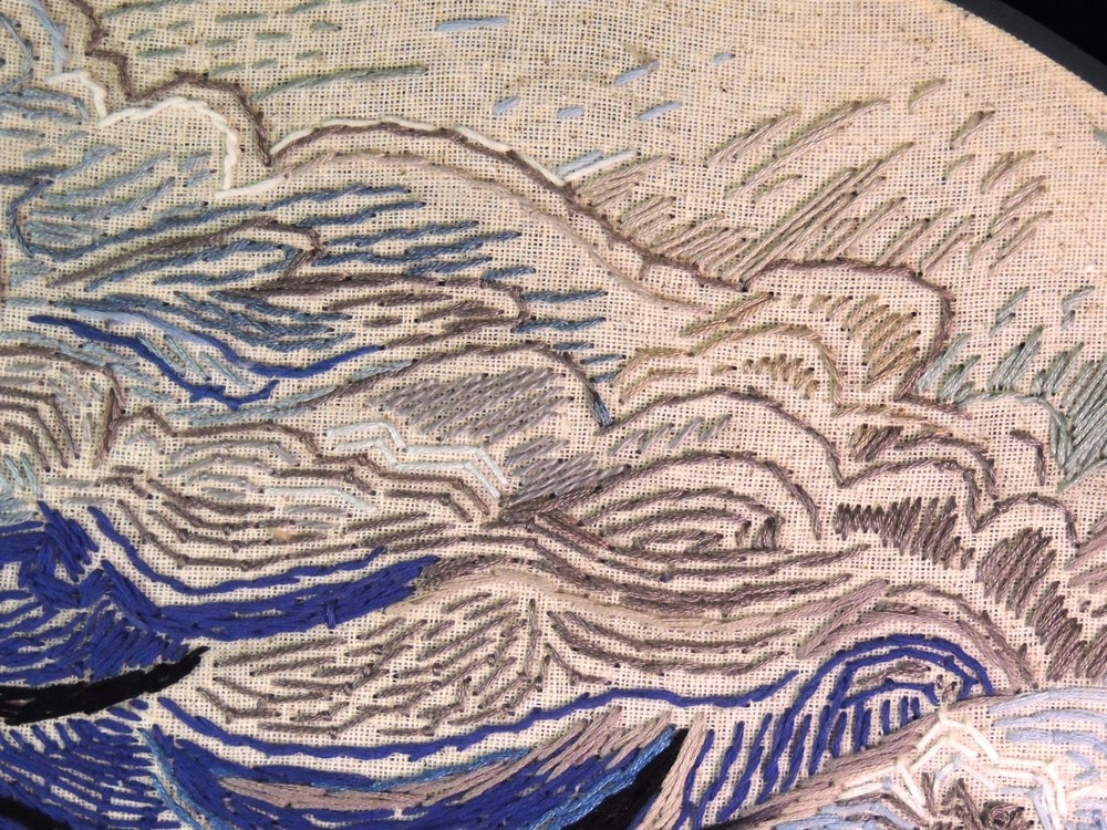 """Virga"" detail"