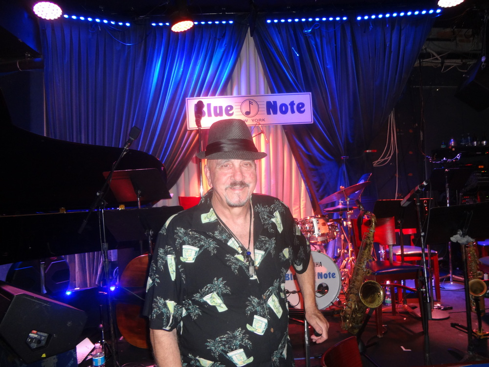 "Rich Pulin honored at the ""Blue Note Jazz Club""  New York City - July 11, 2016 for Clifford Brown/Rich Pulin lyrics and arrangement ""It's You La Rue"""