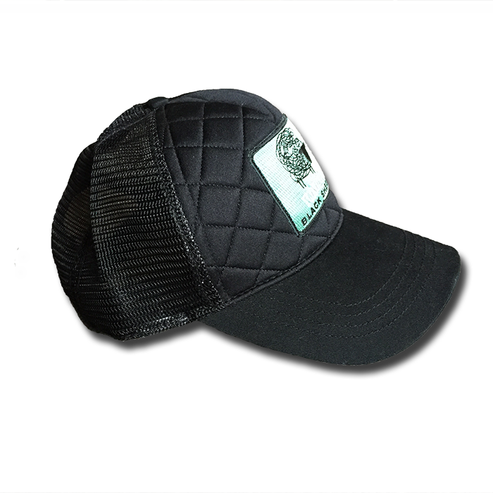 3d44e887fd5a7 Black Sheep Quilted Trucker Hat — Yonder Mountain