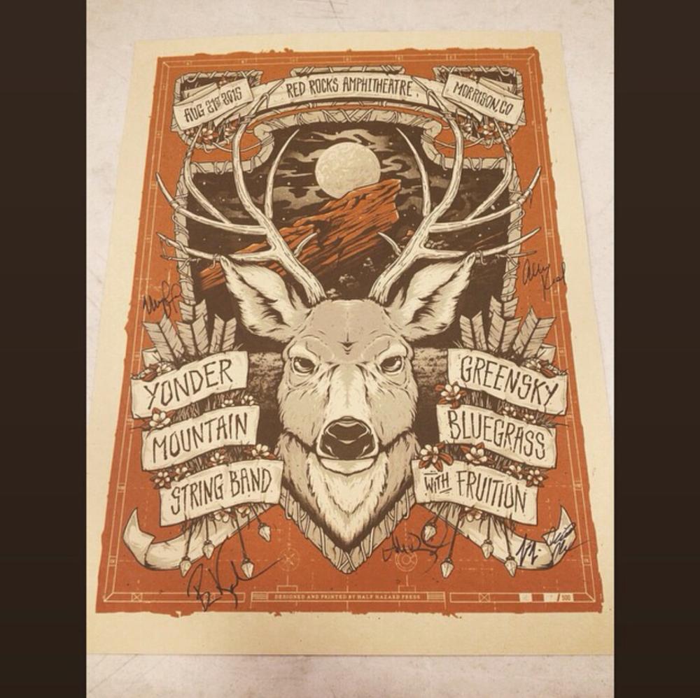 Red Rocks 2015 Poster