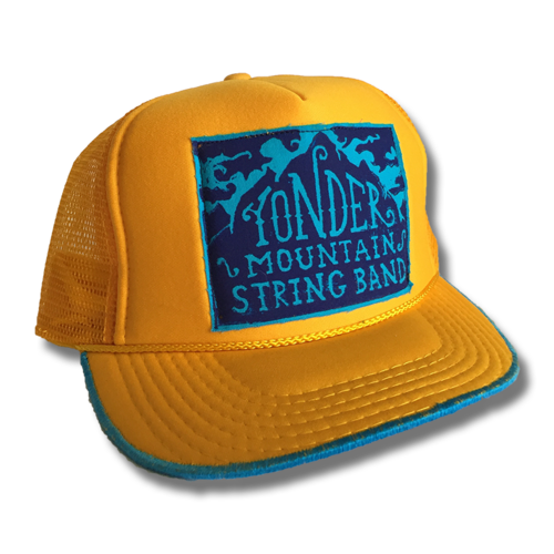 da773019 Yonder Mountain ReCaps Hat - Yellow — Yonder Mountain