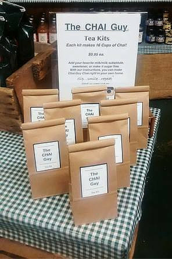 The Chai Guy DIY kits. Available at the Rochester's Public Market.