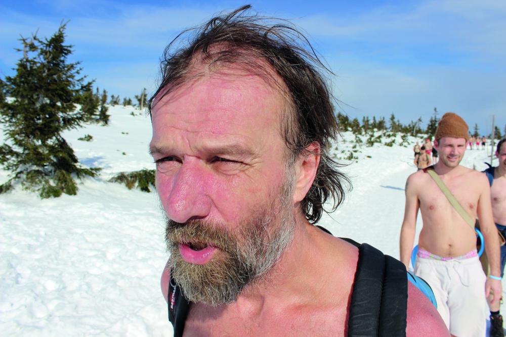 Wim Hof     Alias The Iceman, heeft de WHM-WimHofMethode ontwikkeld.