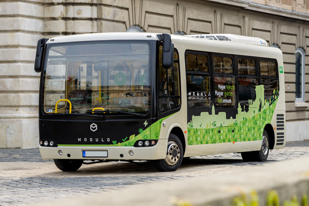 It was stunning to see the first prototype of the Modulo bus run in the actual environment to where it was designed to run.