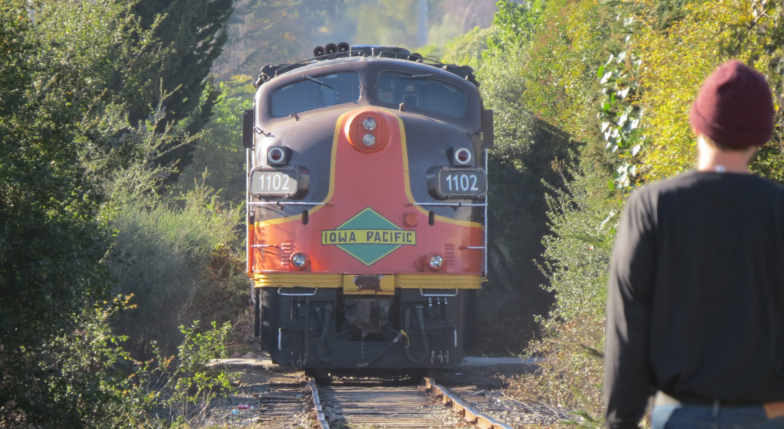 News trail now santa cruz county coastal corridor train infrastructure would be replaced for passenger train malvernweather Images