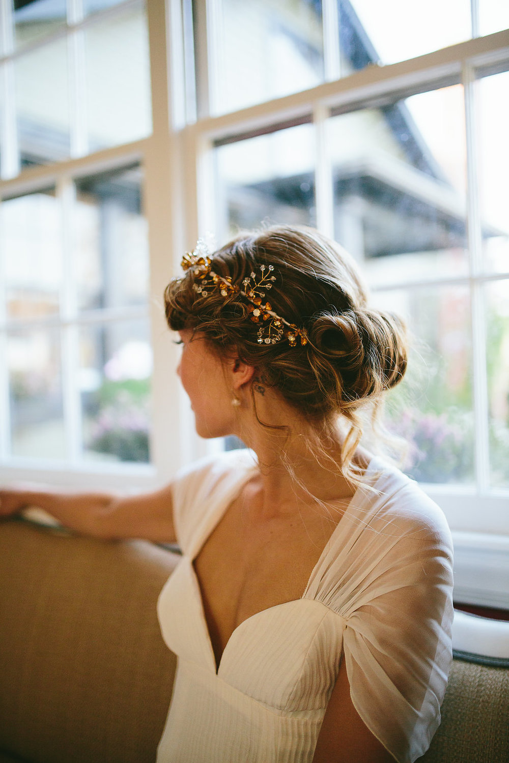 Top Knot Studio Hair wedding