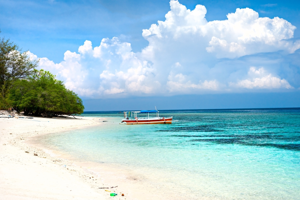 Beautiful beach, Gili Air