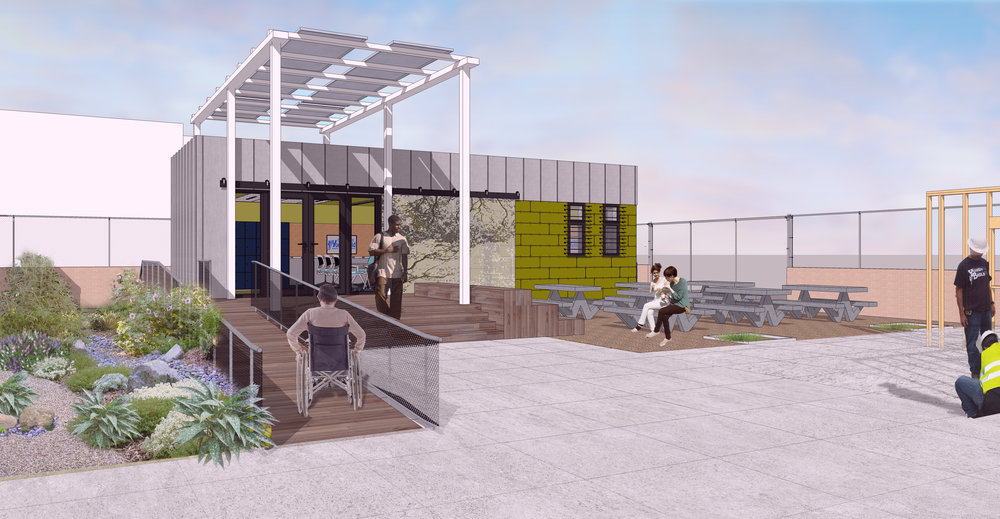 Structure will be donated to Compton YouthBuild for construction-training program