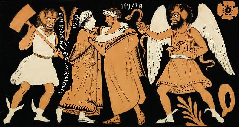 Admetus luandu-si la revedere de la Alchestis (Alcesta)