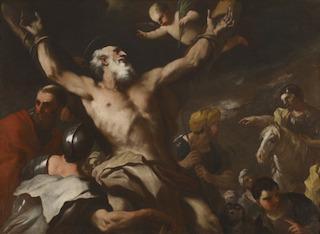 Martiriul Sf.Ap.Andrei (Luca Giordano)