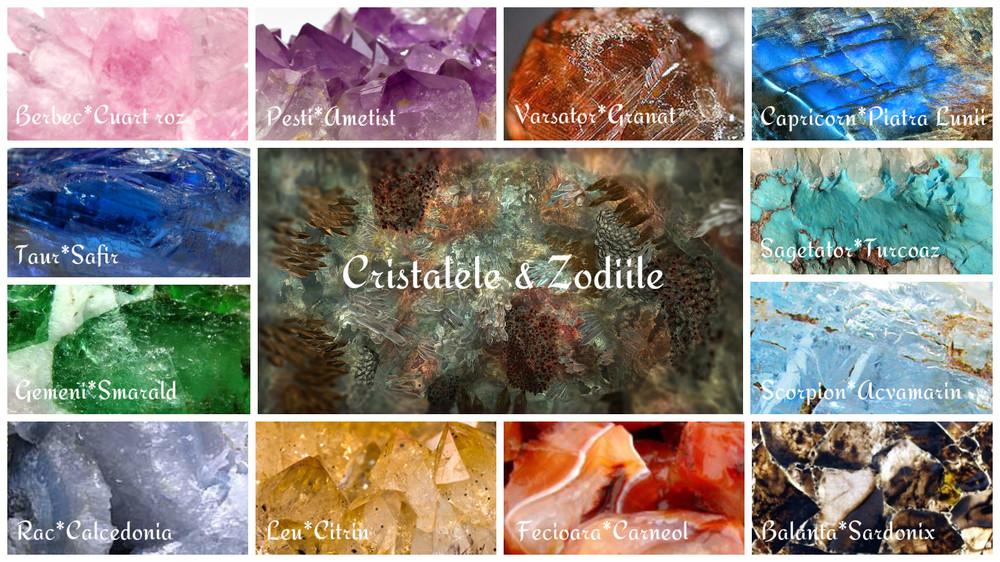 cristalele si zodiile