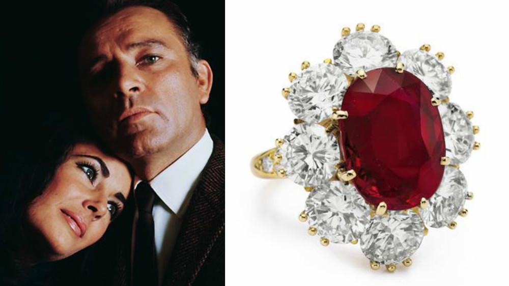 La inceputul casatoriei lor, Richard i-a promis sotiei sale, un rubin special. Ea si-a dorit unul perfect, iar dupa 4 ani de cautari l-a si primit.
