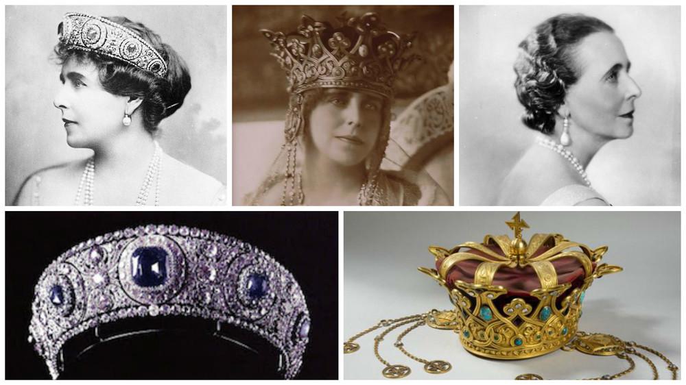 regina maria si perlele