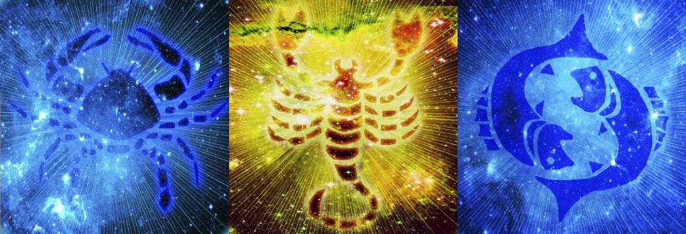 Triada de Apa - Rac, Scorpion, Pesti